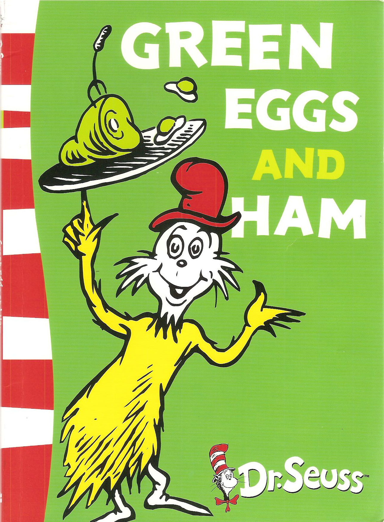 "... to Dr Seuss's "" Green Eggs and Ham "", I offer the following"