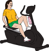 SteveLambert_Woman_on_Exercise_Bike