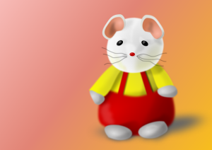 mouse dressed up