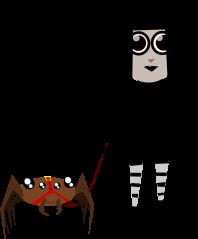 pet_spider_girl