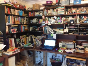 My writing space 14 May 2015