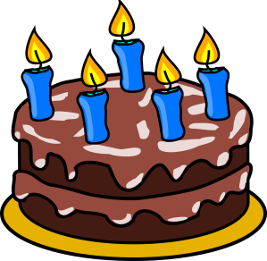 http://pixabay.com/en/birthday-cake-cake-food-candles-25388/