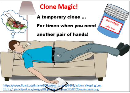 Clone magic