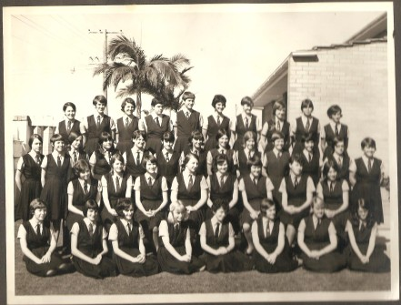 My year 10 class - only 20 went on to year 12.