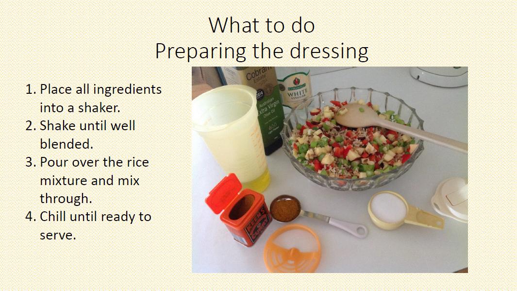Rice salad 5