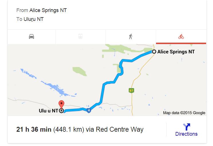 Alice Springs to Uluru