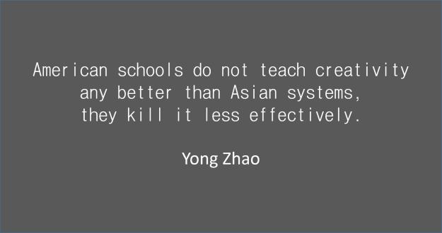 American schools _ Yong Zhao