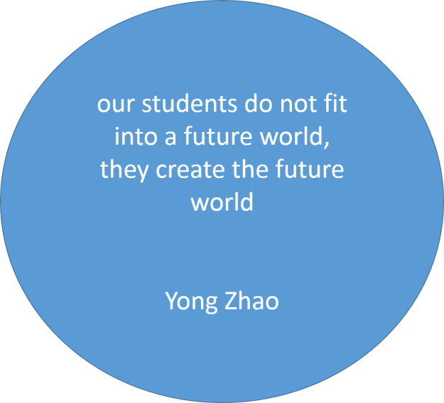 our students do not fit - Yong Zhao