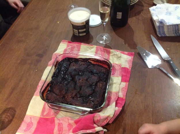 Rob's self-saucing pudding 18 June 2015