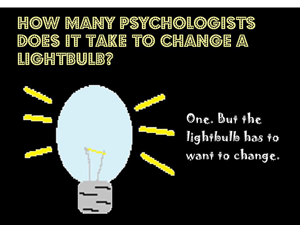 psychologist lightbulb