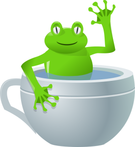 rg1924, unexpected frog in my tea    https://openclipart.org/detail/21079/unexpected-frog-in-my-tea