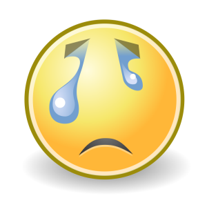 warszawianka, tango face crying https://openclipart.org/detail/30295/tango-face-crying
