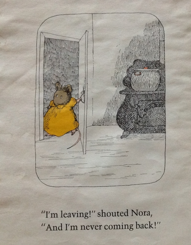 "from ""Noisy Nora"" by Rosemary Wells"