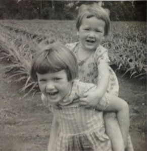 My big sister and me © Norah Colvin