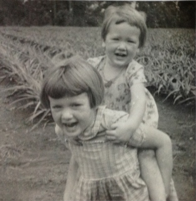 My big sister and me © Norah Colvin