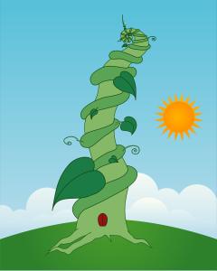 youk_k, Beanstalk https://openclipart.org/detail/20020/beanstalk