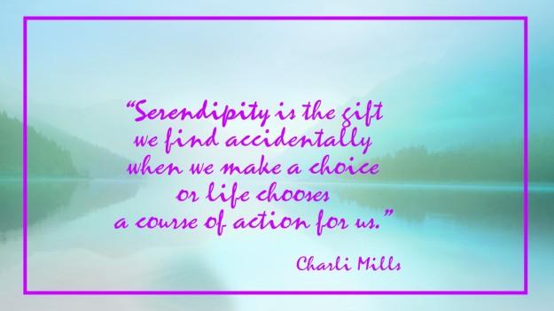 Charli Mills Serendipity