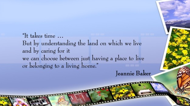 Jeannie Baker - time