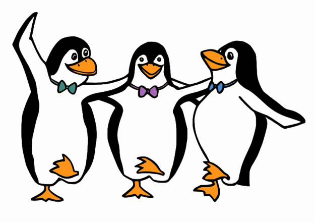 Moini, Dancing Penguins https://openclipart.org/detail/124759/dancing-penguins