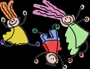 GDJ, Playful stick figures https://openclipart.org/detail/230070/playful-stick-figure-kids