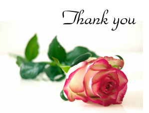 thank you - rose