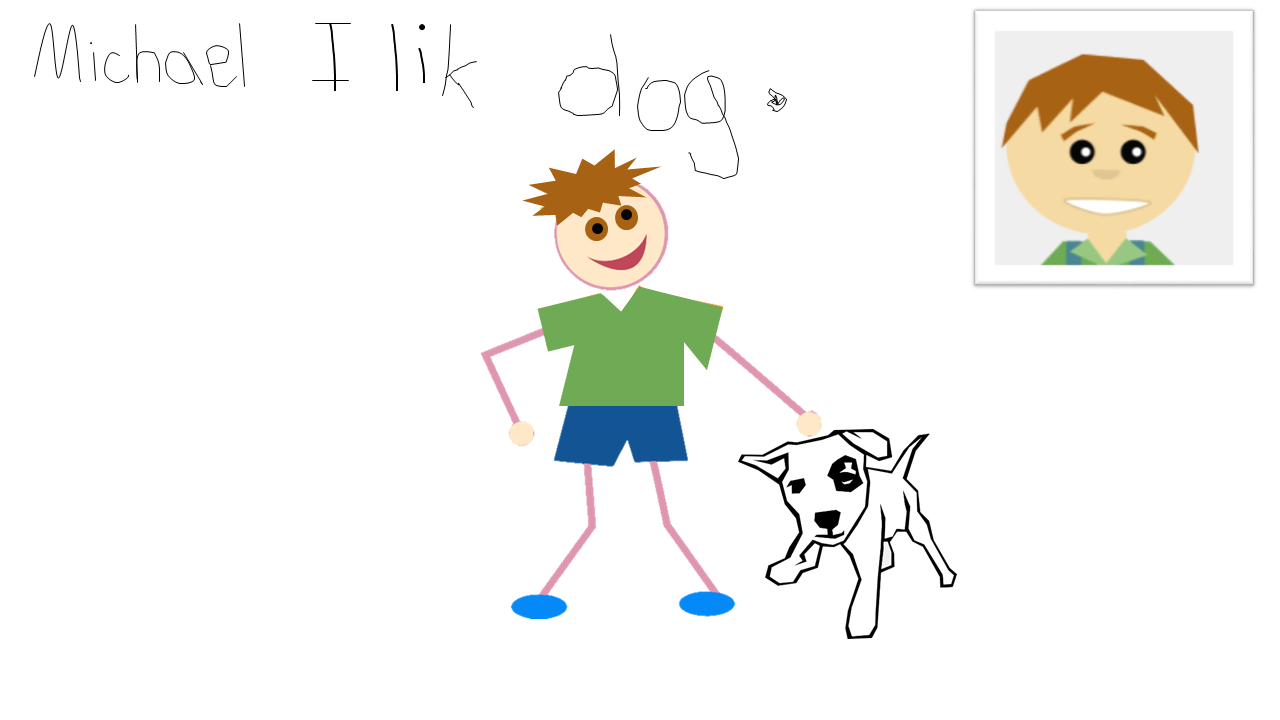 Michael likes dogs