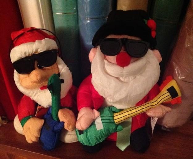musical Santas
