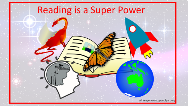 reading is a super power
