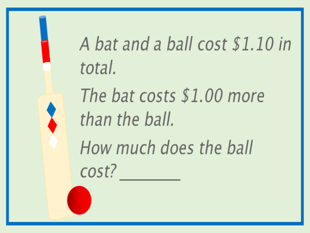 bat and ball question