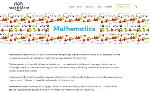 mathematics readilearn
