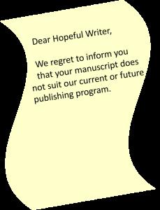 rejection slip