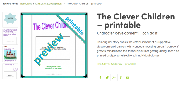 The Clever Children printable