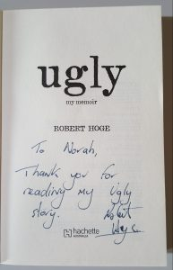 My signed copy from the writers' festival!