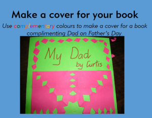 how to make a book cover - cover