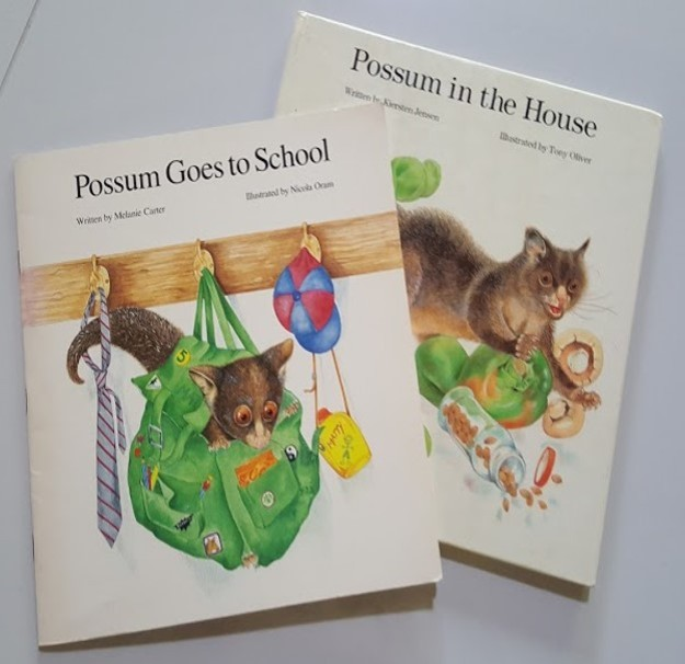Possum goes to school