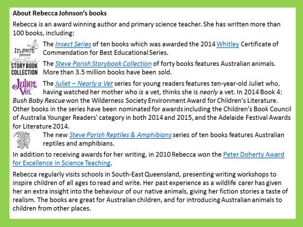 about-rebecca-johnsons-books