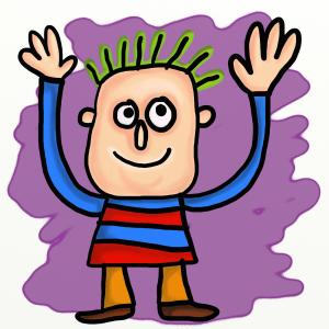 cartoon-waving-guy