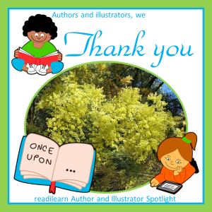 thank you authors and illustrators