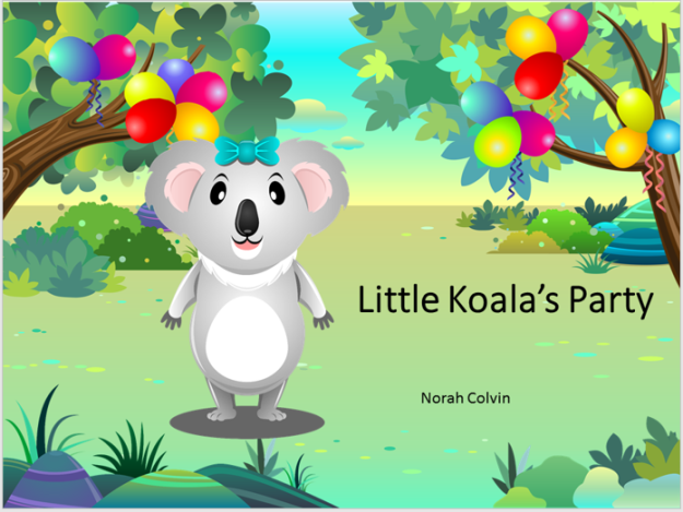 Little koala's party