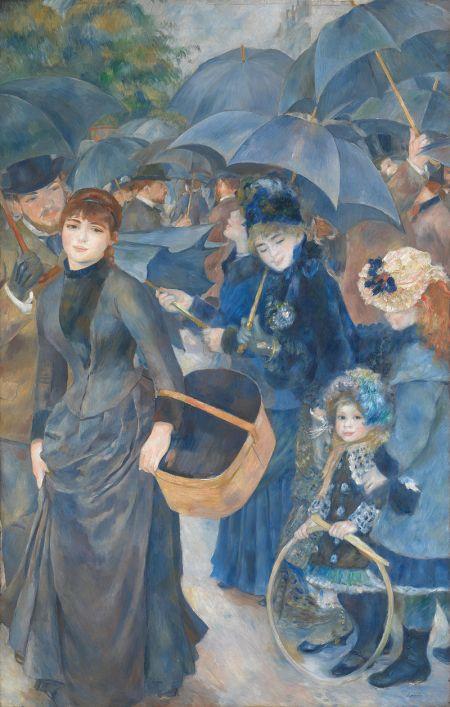 Pierre-Auguste Renoir The Umbrellas ca. 1881-86