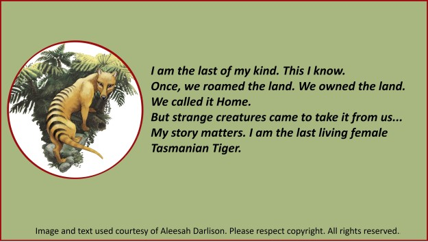 Thylacine quote