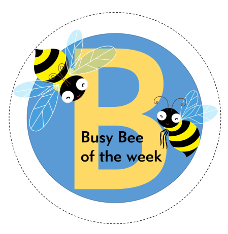 busy bee of the week