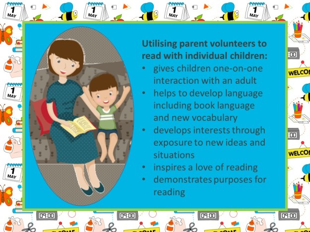 utilising parent volunteers