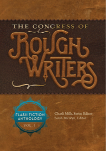 The Congress of Rough Writers Anthology 1