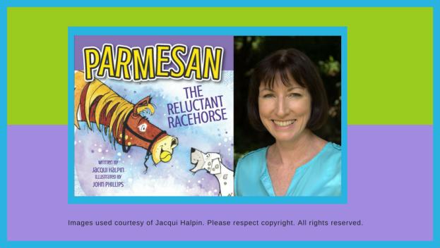 Jacqui Halpin Parmesan the Reluctant Racehorse
