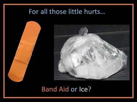 band aid ice