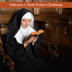 black and white flash fiction challenge