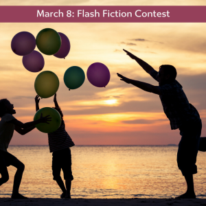 Charli Mills flash fiction challenge at the Carrot Ranch about balloons