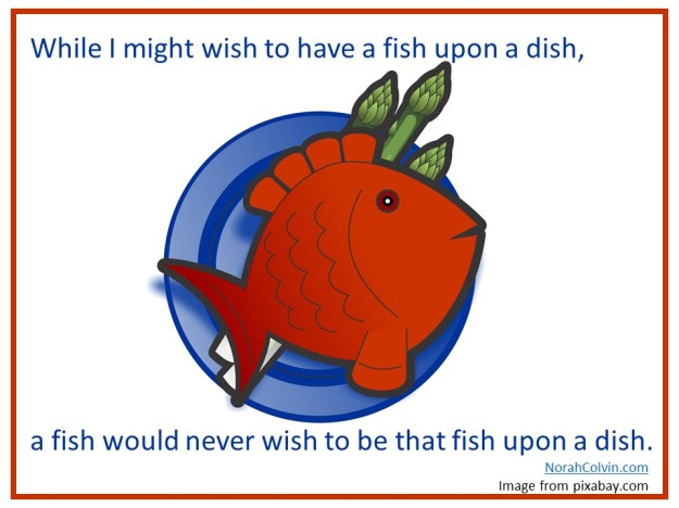 fish on a dish rhyming words