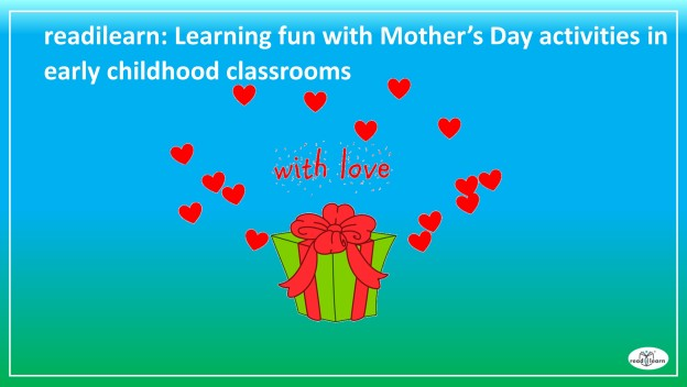 activities for celebrating Mother's Day in early childhood classrooms